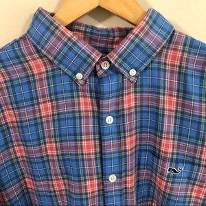 Vineyard Vines Men's Slim Fit Button-Down Shirt